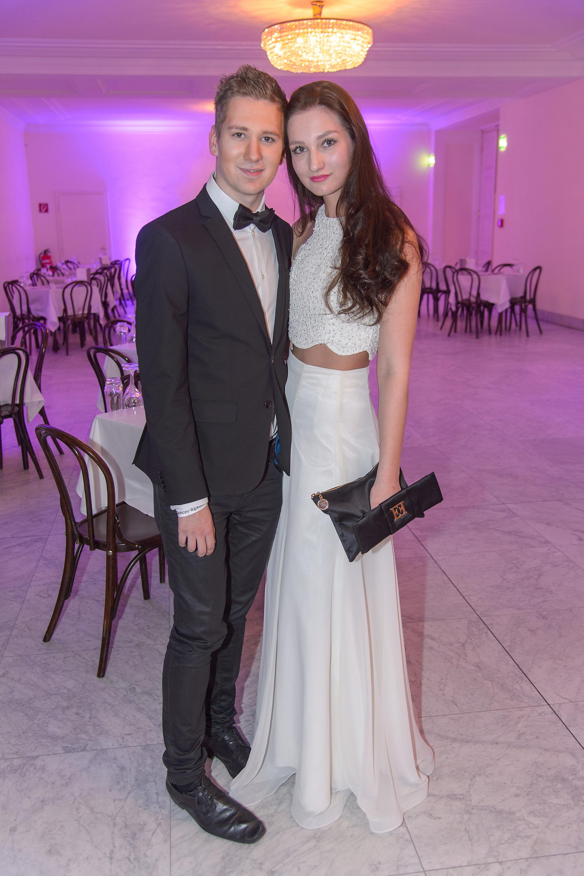 Clemens TRISCHLER mit Schwester Pia